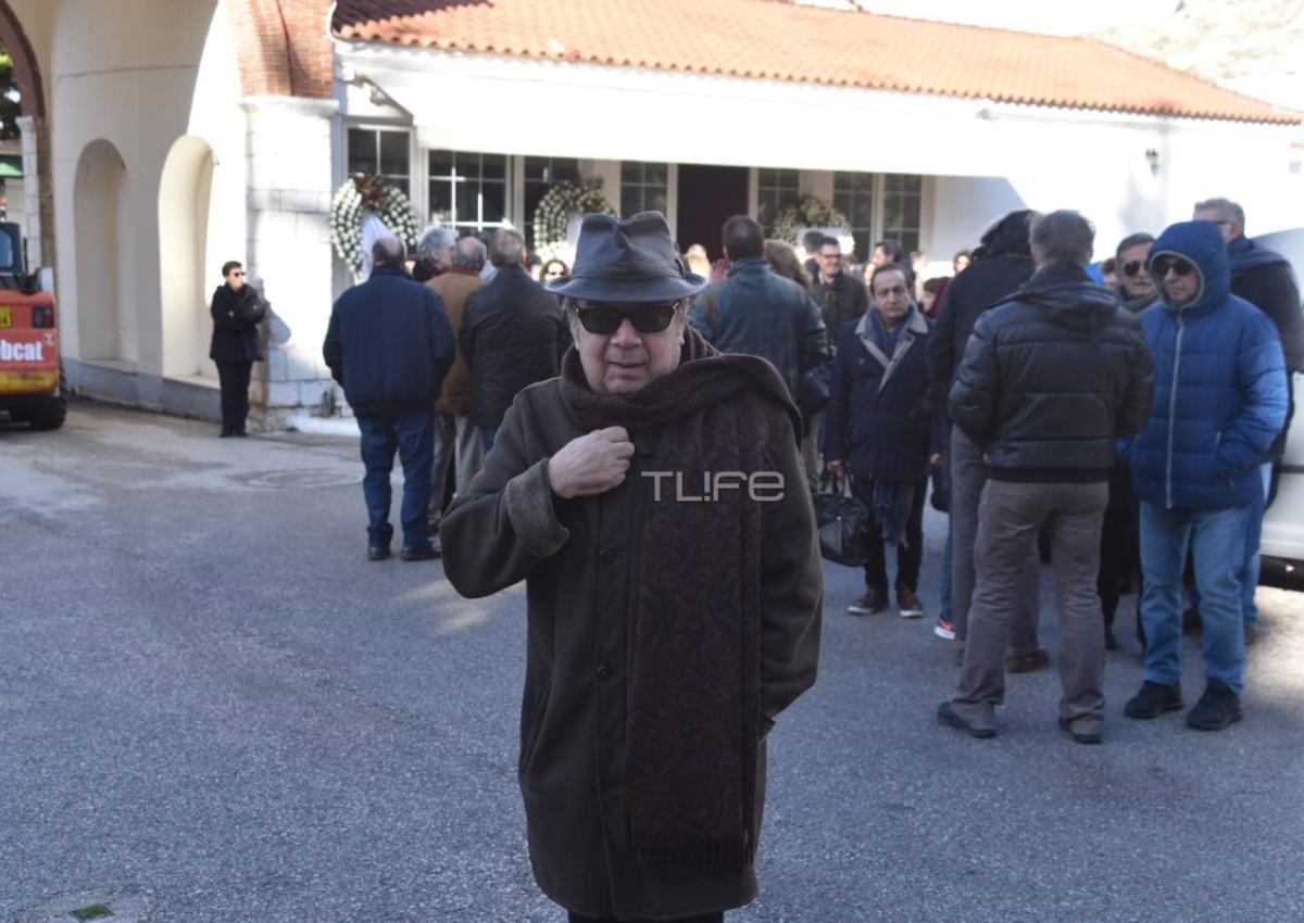 Θλίψη στην κηδεία του Δημήτρη Τσούτση [pics]