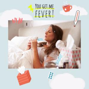 Πώς να φροντίσεις την επιδερμίδα σου όταν έχεις πυρετό!