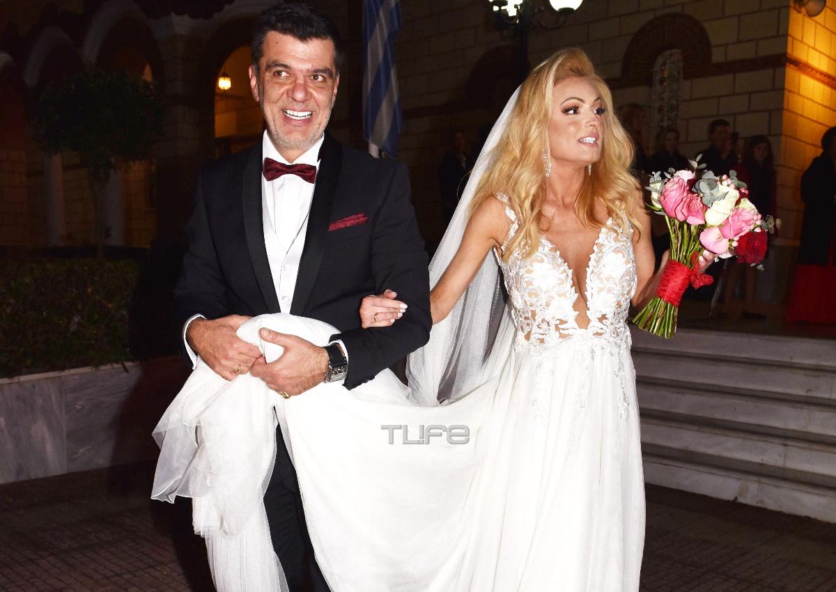 Ανδρέας Πάτσης – Βασιλική Παπαλουκά: Ο βουλευτής και η παρουσιάστρια παντρεύτηκαν του Αγίου Βαλεντίνου!