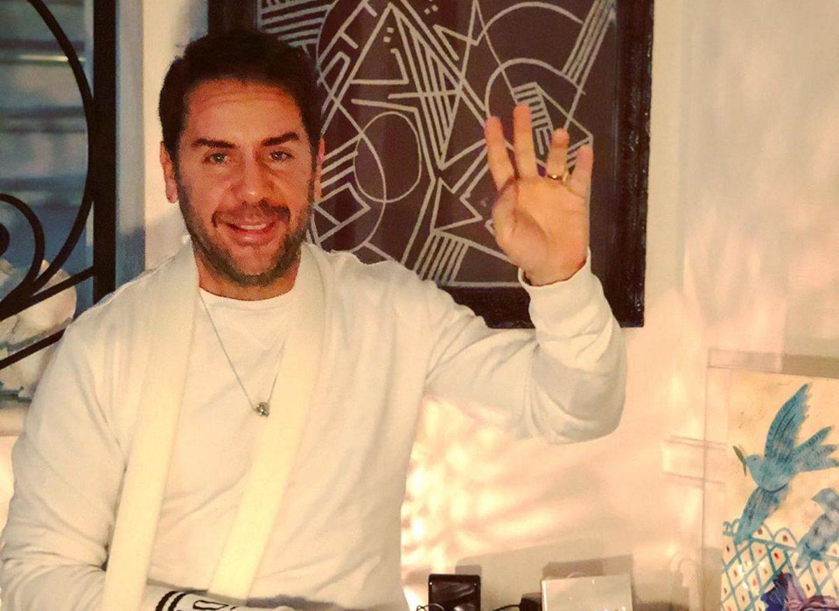 Γιώργος Μαζωνάκης: Γυμνάζεται ακόμα και… με τραυματισμένο χέρι! [pic] | tlife.gr