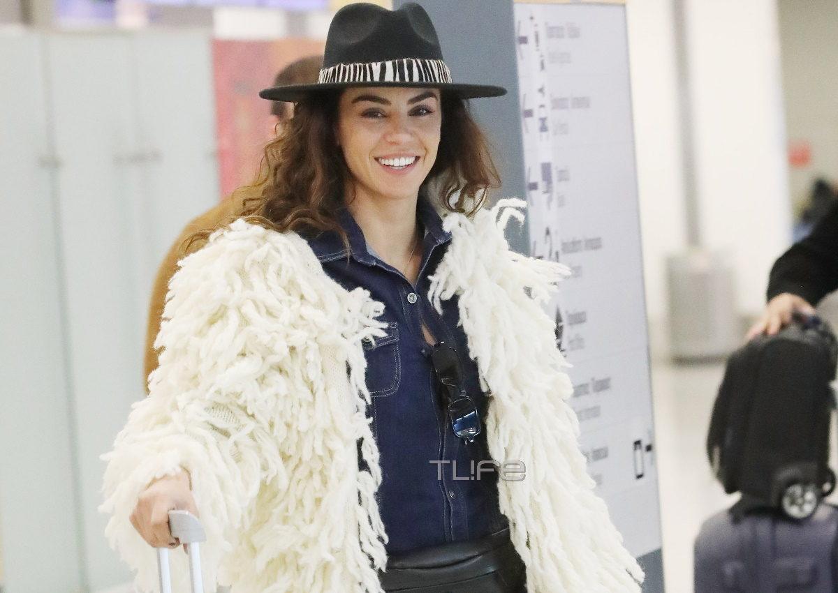 Ειρήνη Παπαδοπούλου: Στο αεροδρόμιο με trendy look που έκλεψε τις εντυπώσεις! Φωτογραφίες | tlife.gr