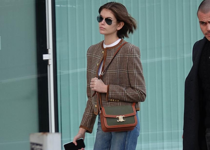 H Κaia Gerber φοράει το τέλειο κυριακάτικο σύνολο! Copy the look | tlife.gr