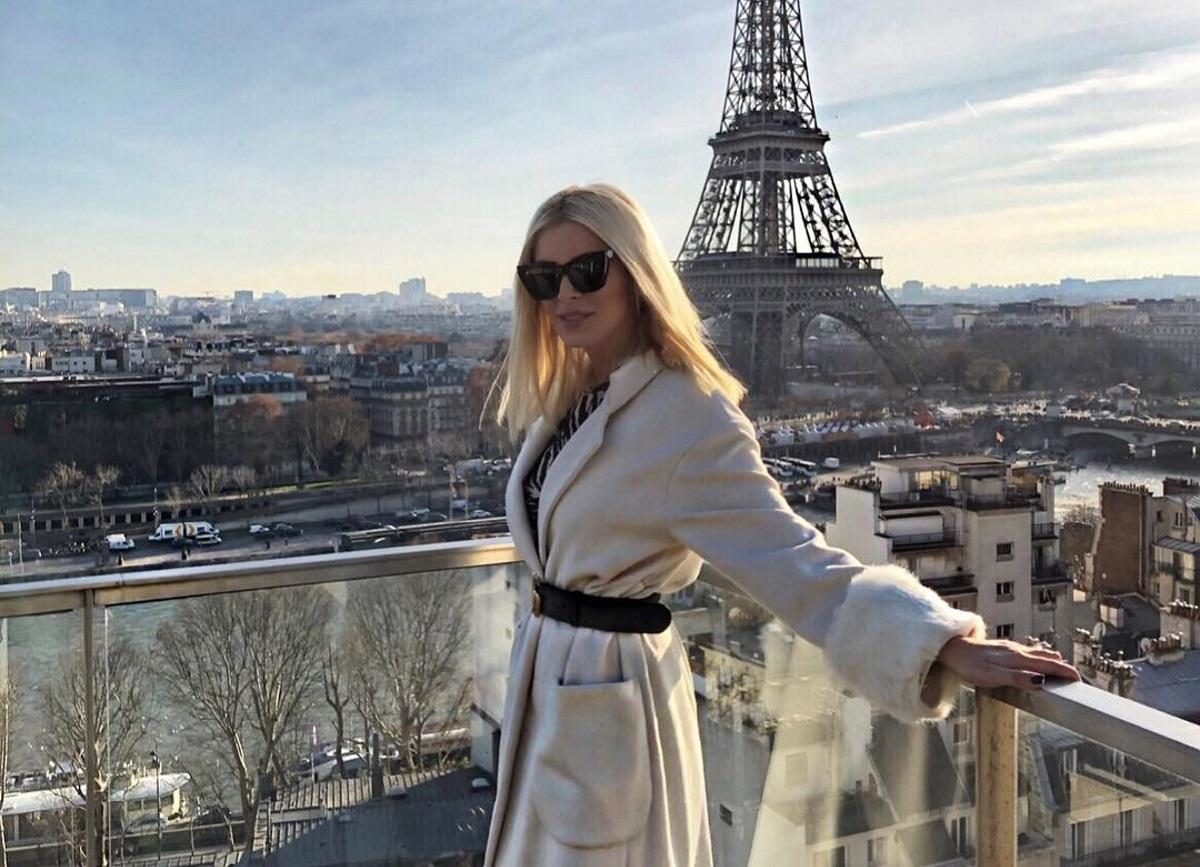 Κατερίνα Καινούργιου: Απόδραση στο μαγευτικό Παρίσι! [pics]