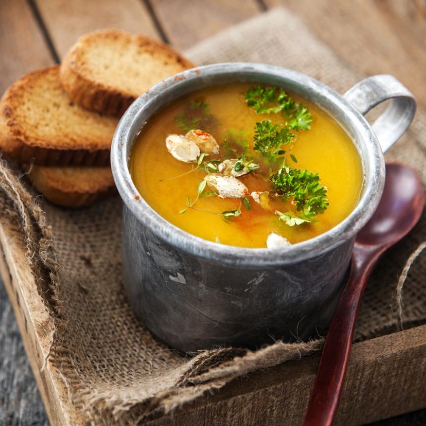Γευστική σούπα λαχανικών