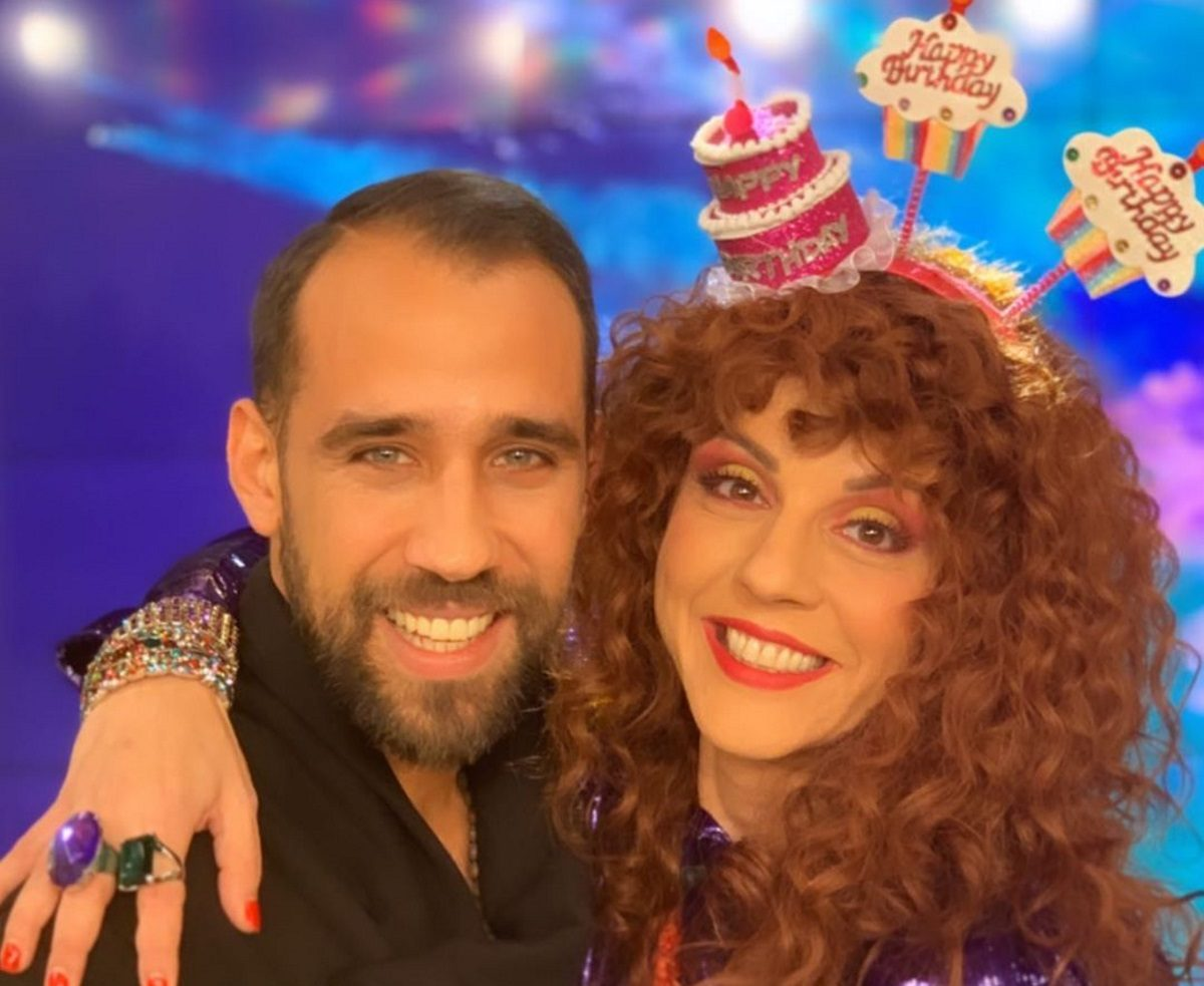 Ματίνα Νικολάου: Η on air έκπληξη του συντρόφου της, Βασίλη Πορφυράκη! [pics,vid] | tlife.gr