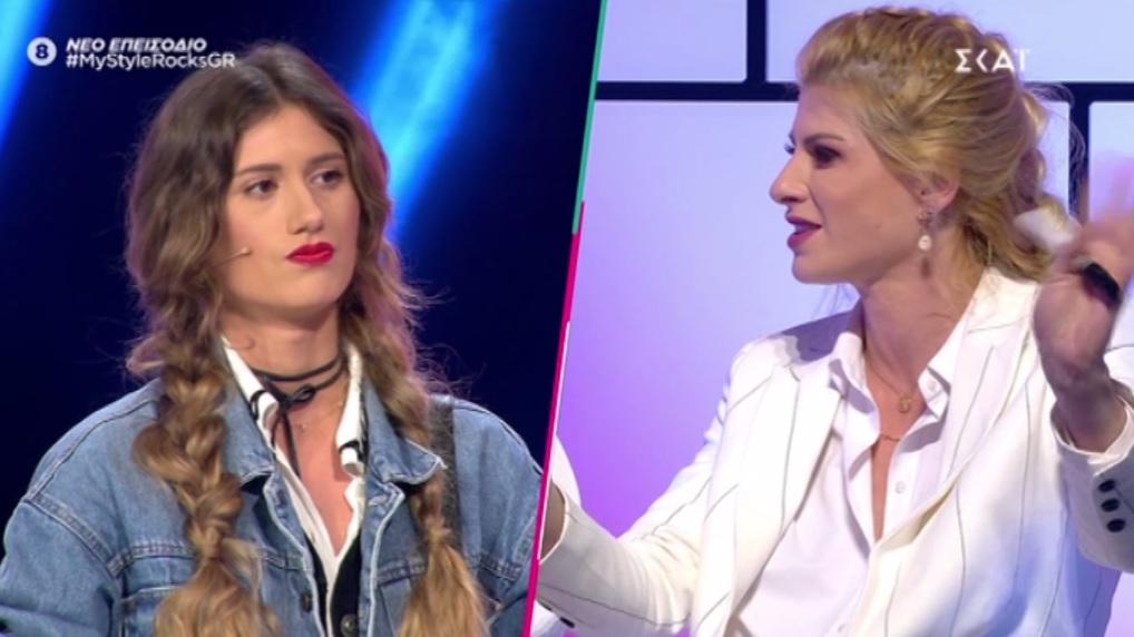 My Style Rocks: Έξαλλη η Ευρυδίκη με την Κρίστεν! «Ξέρω τι λες για μένα πίσω από την πλάτη μου» – Video | tlife.gr