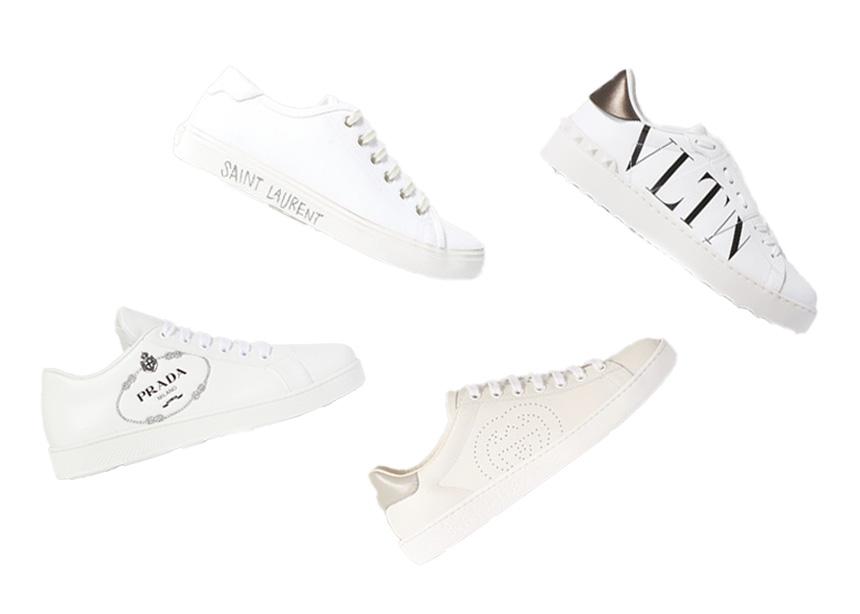Λευκά sneakers: Τα ανοιξιάτικα παπούτσια που όλες θέλουμε