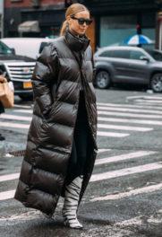 Nέα Υόρκη με puffer jacket