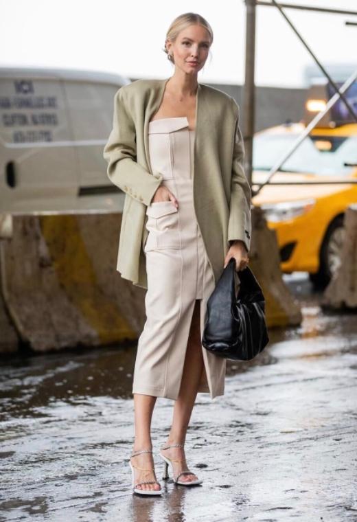Νέα Υόρκη με pastel blazer   tlife.gr