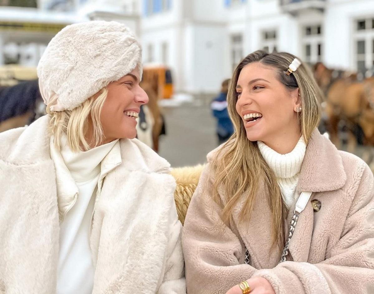 Αθηνά Οικονομάκου: Χειμερινή απόδραση στο Saint-Moritz με την Χριστίνα Κοντοβά! [pics,vids]