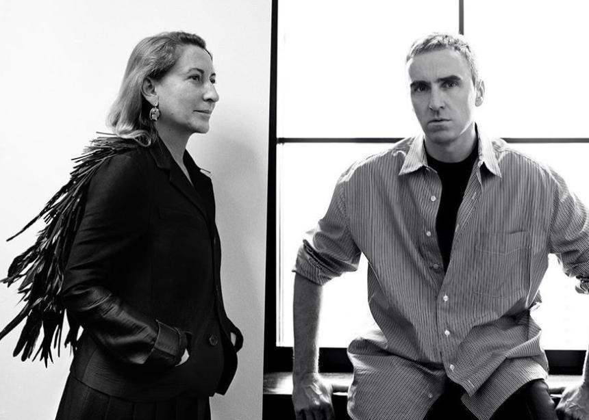 Είναι επίσημο: H Miuccia Prada υποδέχεται τον Raf Simons στον οίκο Prada!