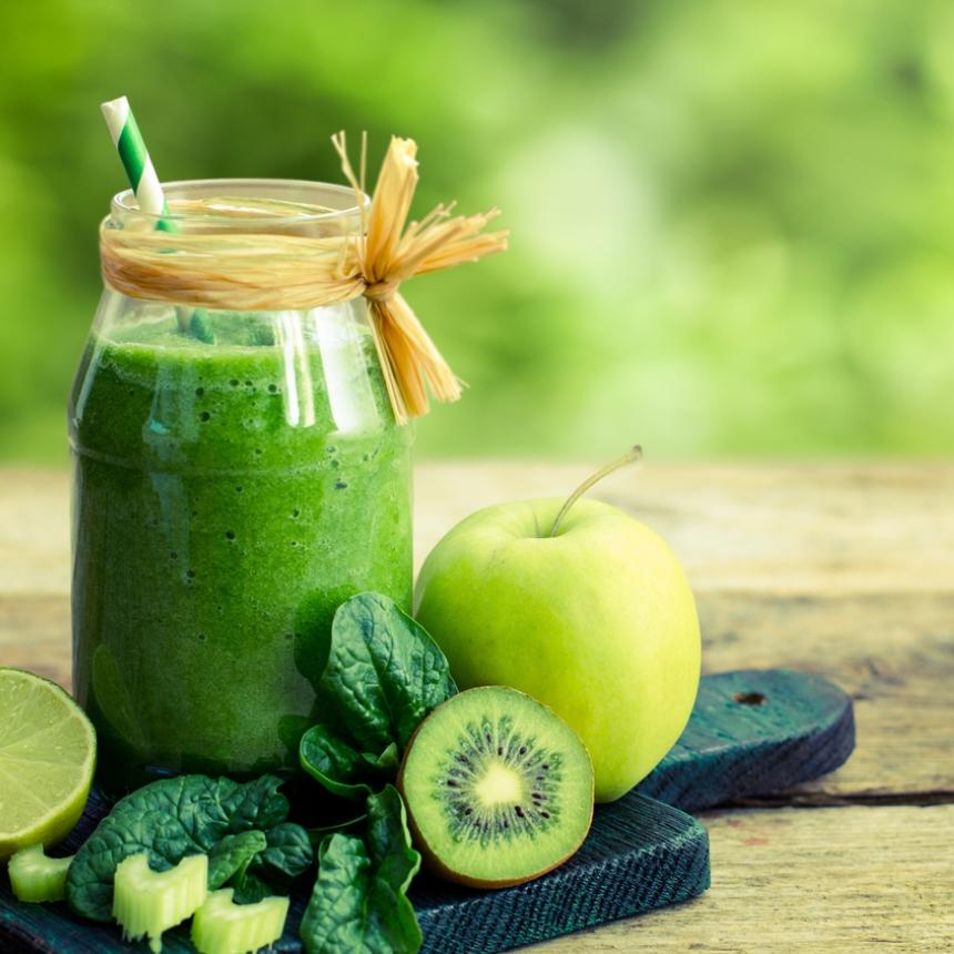 Πράσινο smoothie για αποτοξίνωση