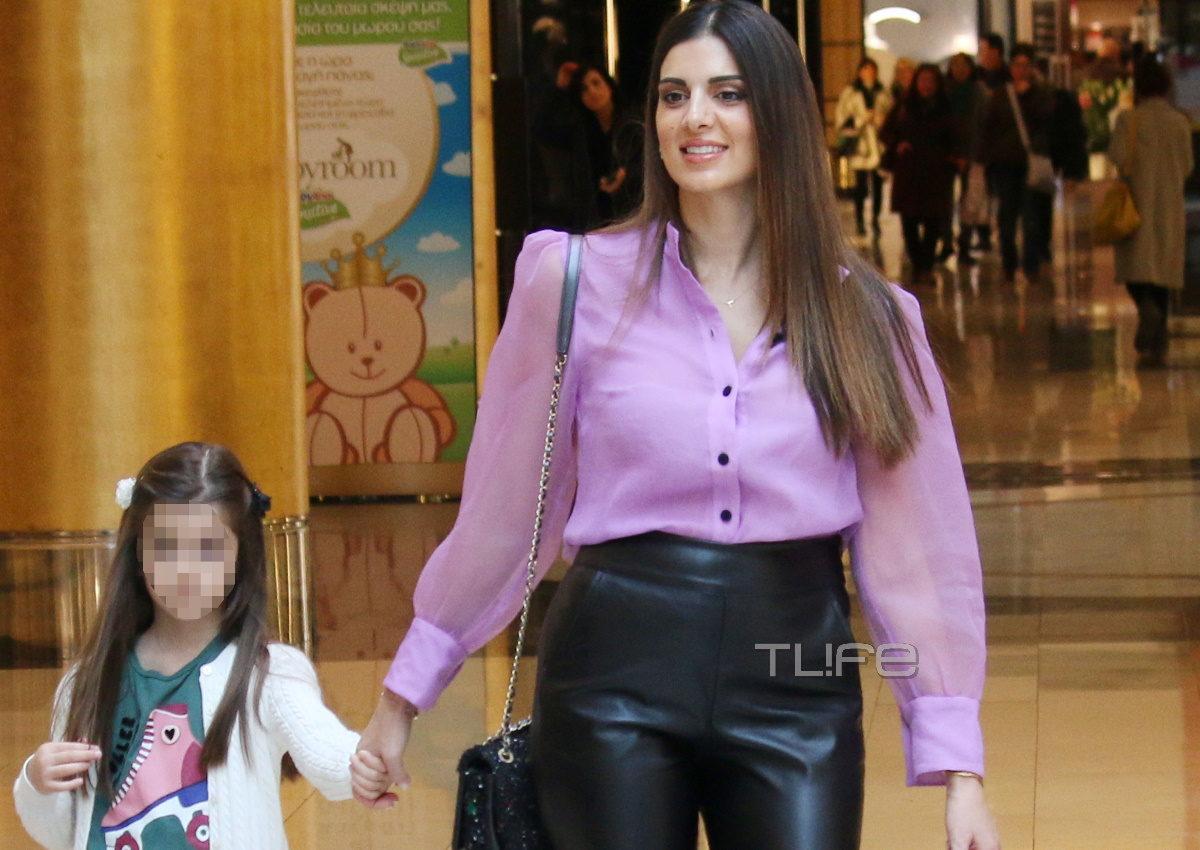 Σταματίνα Τσιμτσιλή: Για αγορές στο Μαρούσι με την μικρή κόρη της, Μαίρη! [pics] | tlife.gr