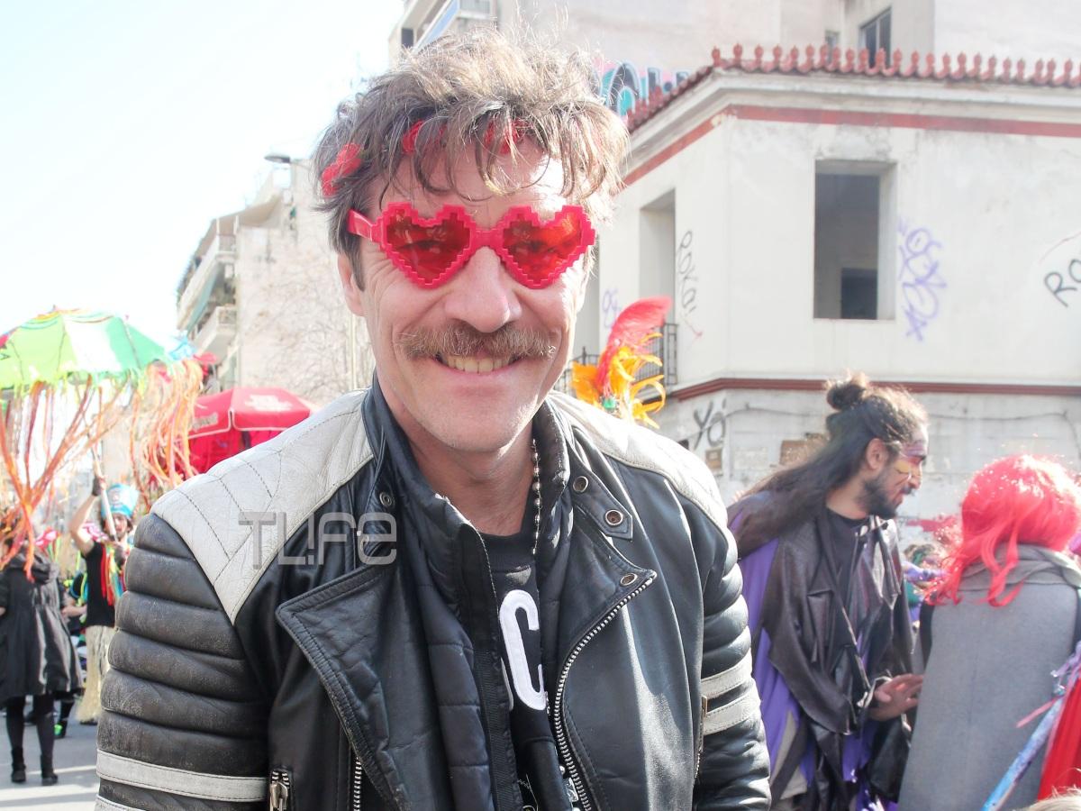Γιάννης Στάνκογλου: Με αποκριάτικη διάθεση στο καρναβάλι του Μεταξουργείου! Φωτογραφίες