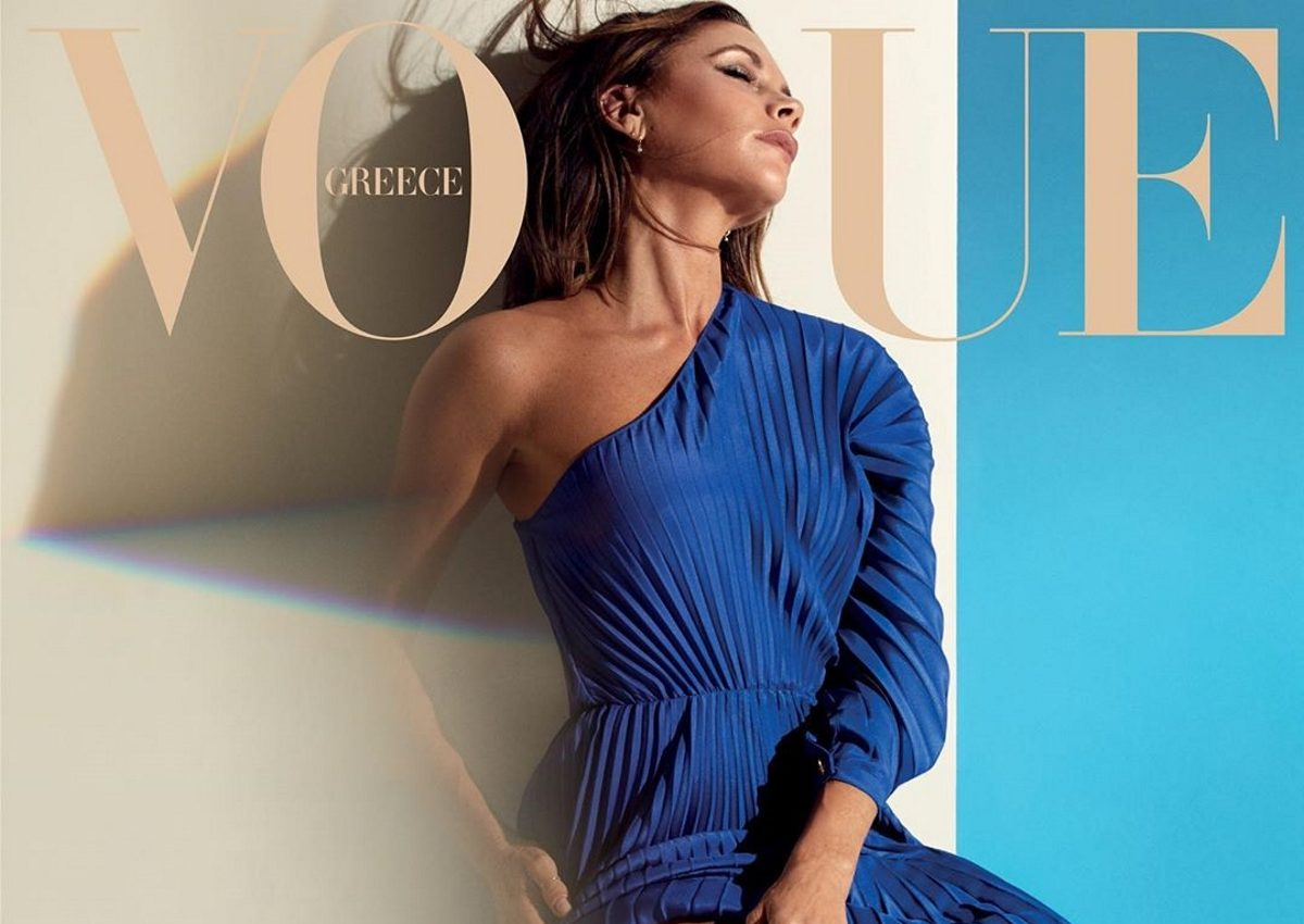 Victoria Beckham: Ποζάρει στο εξώφυλλο της ελληνικής Vogue με δημιουργία Zeus & Dione! | tlife.gr
