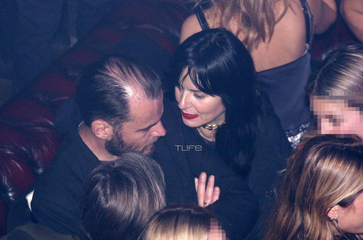 Ζενεβιέβ Μαζαρί: Σπάνια βραδινή έξοδος με τον σύζυγό της, Βασίλη Καρύδη [pics] | tlife.gr