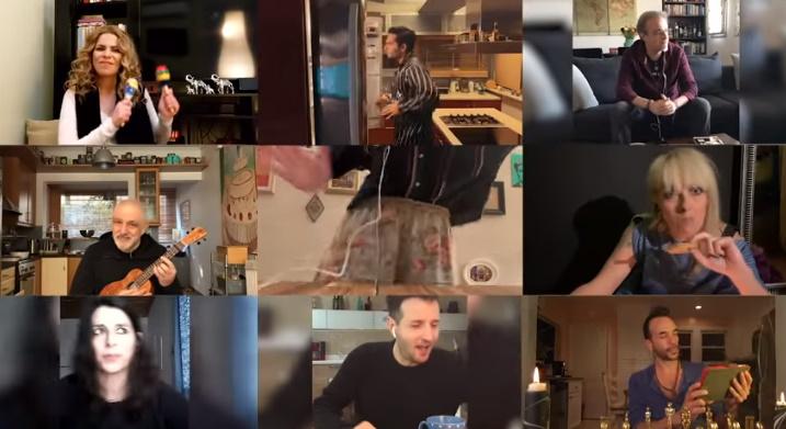 9 αγαπημένοι Έλληνες τραγουδιστές τραγουδάνε: «θα κάτσω σπίτι»! Δες το βίντεο | tlife.gr