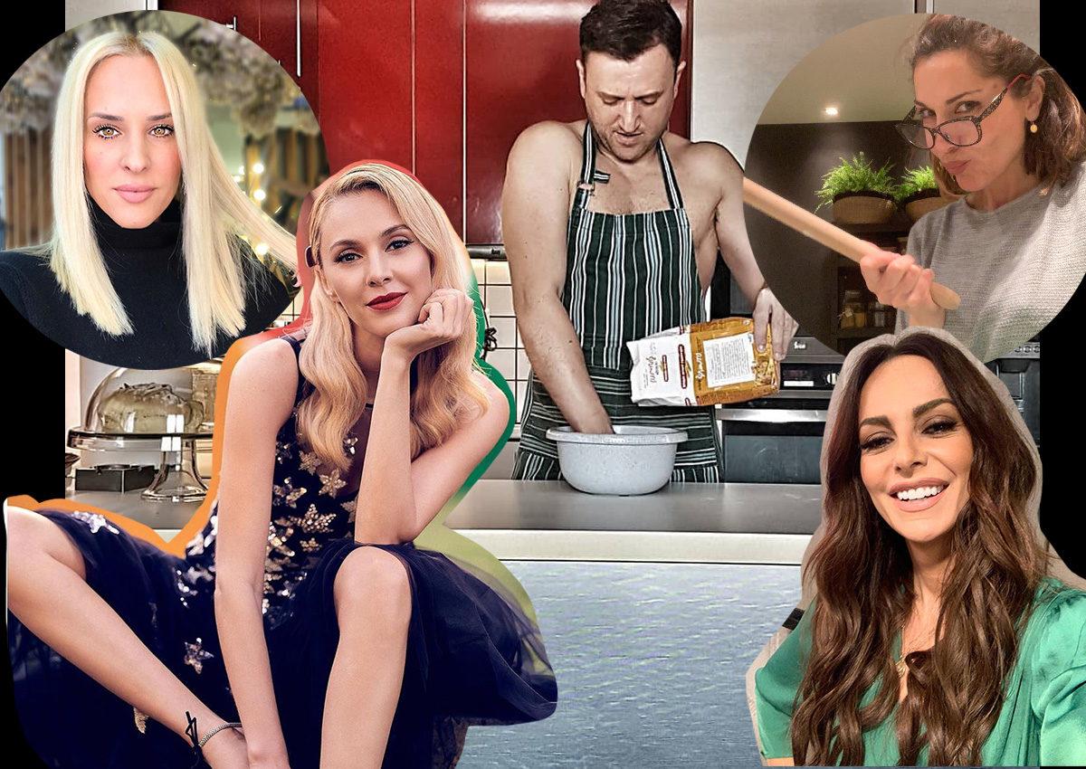 Η εγχώρια showbiz μένει σπίτι και το… ρίχνει στη μαγειρική! Φωτογραφίες | tlife.gr