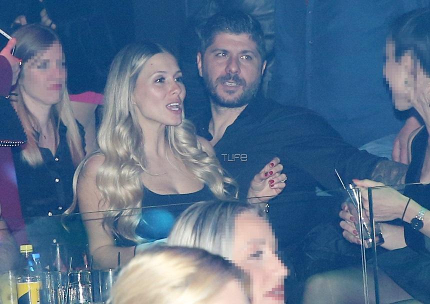 Μιχάλης Σηφάκης – Όλγα Στεφανίδη: Full in love σε βραδινή τους έξοδο! Φωτογραφίες