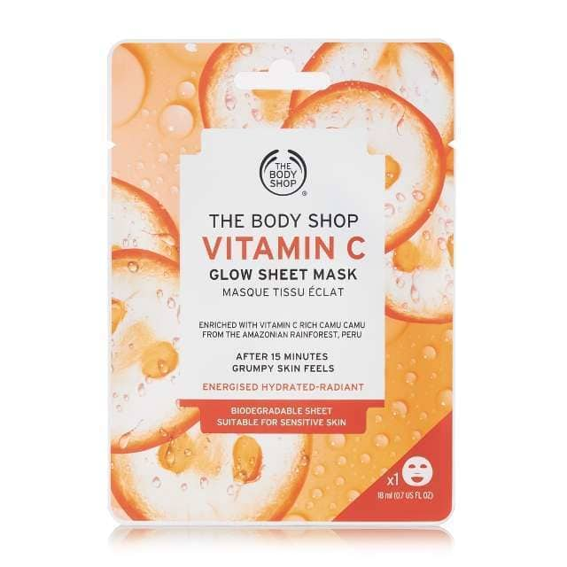 Vitamin C Glow Sheet Mask   tlife.gr