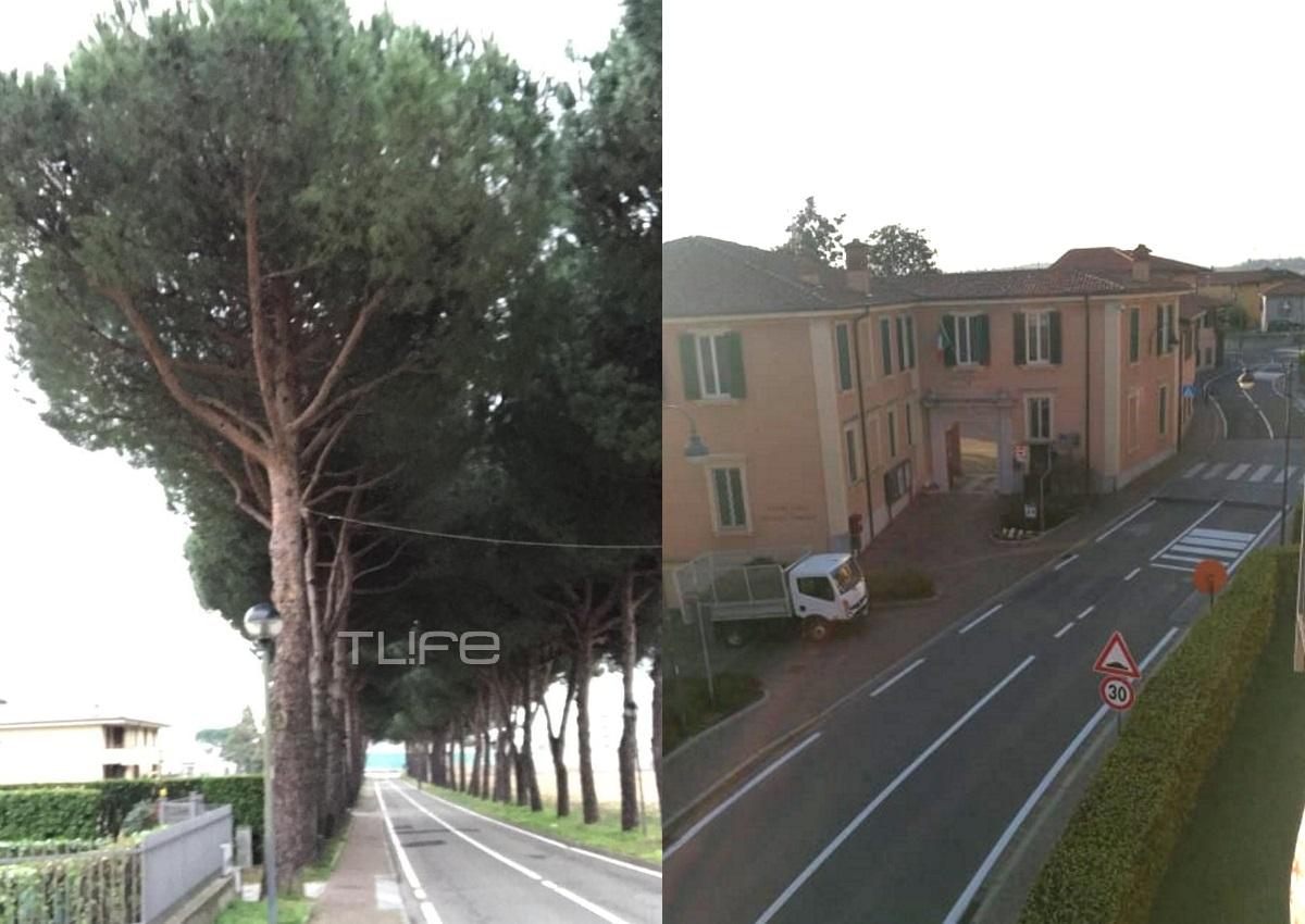 Κόμο: Έρημη πόλη το διάσημο θέρετρο της βόρειας Ιταλίας λόγω κορονοϊού! Φωτορεπορτάζ και video