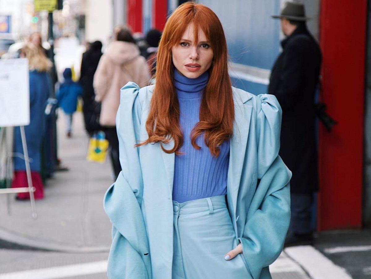 """Έβελυν Καζαντζόγλου: Την συμπεριέλαβαν οι """"Times"""" του Λονδίνου στις πιο στιλάτες γυναίκες του Paris Fashion Week!"""