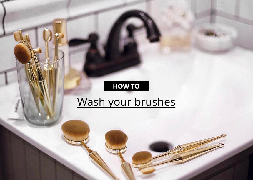 Όλοι  οι τρόποι να πλύνεις τα πινέλα σου και να το κάνεις σωστά (γιατί τώρα που μένεις σπίτι δεν έχεις καμιά δικαιολογία)!