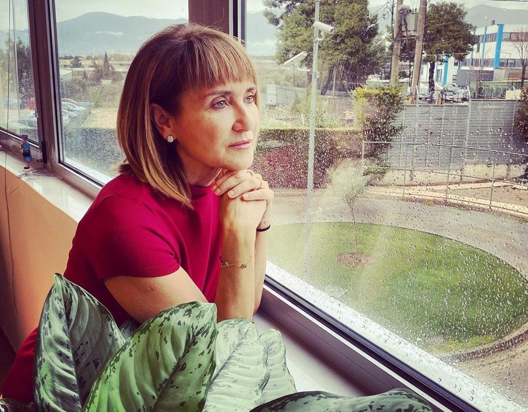 Μάρα Ζαχαρέα: Οι προφυλάξεις που παίρνει, λόγω κορονοϊού, πριν βγει στο δελτίο! | tlife.gr
