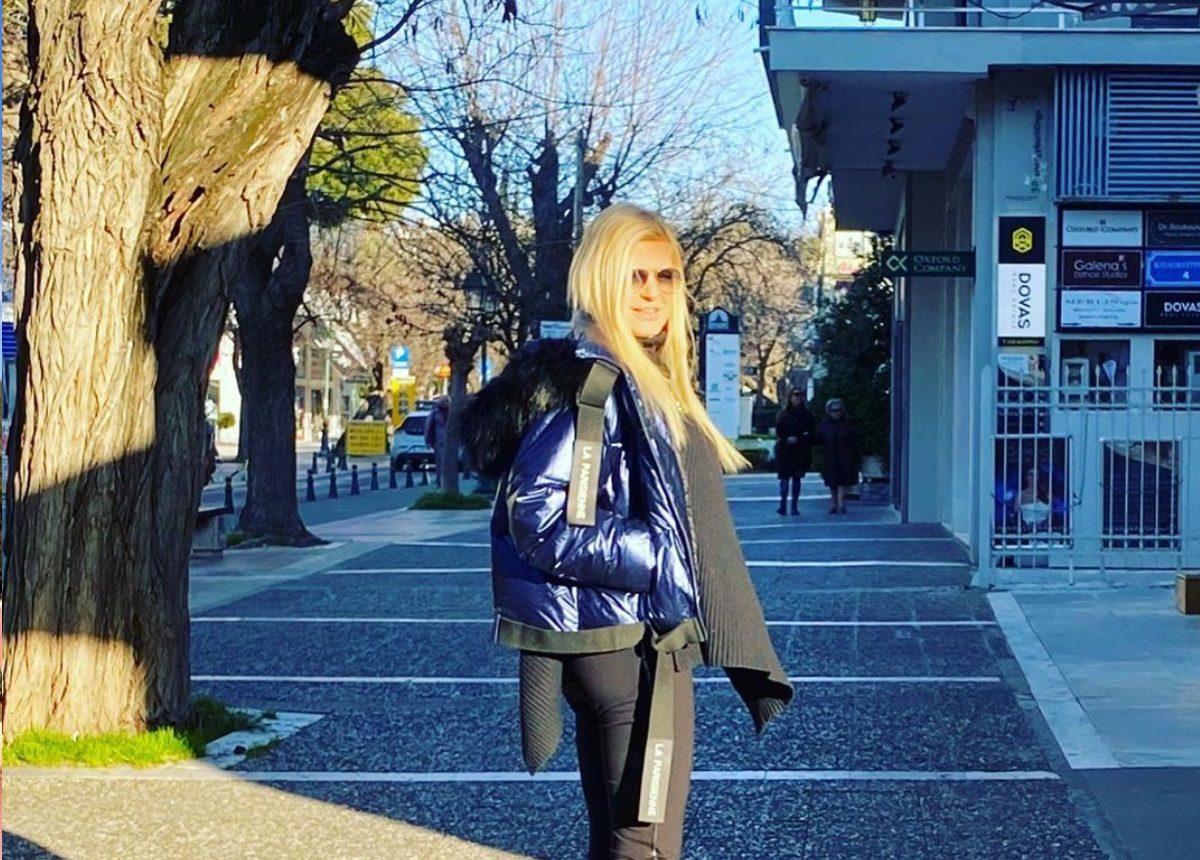 Μαρίνα Πατούλη: Βόλτα στην άδεια Κηφισιά! [pic] | tlife.gr