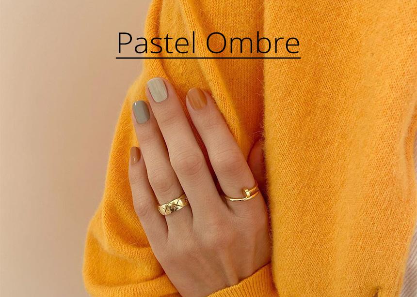 Pastel ombre: δέκα φωτογραφίες για να αντιγράψεις την μεγαλύτερη τάση της άνοιξης στα νύχια!
