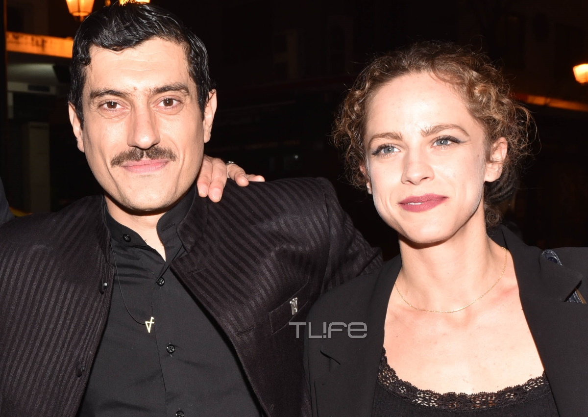 Έλλη Τρίγγου: Απόλαυσε τον πρώην σύντροφό της, Αργύρη Πανταζάρα, στην θεατρική πρεμιέρα του!