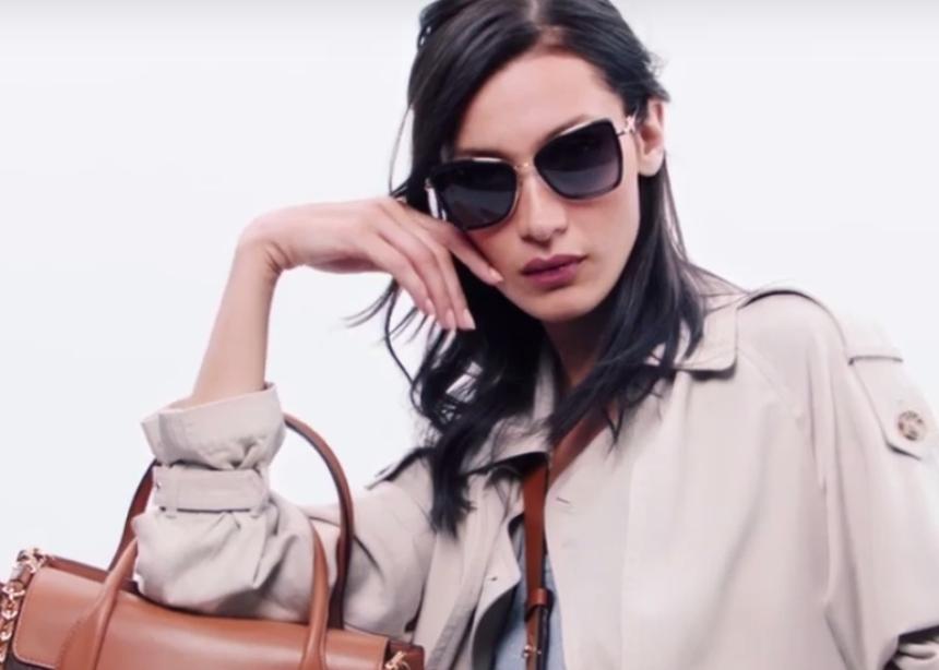 Η Bella Hadid στο νέο campaign video του Μichael Kors