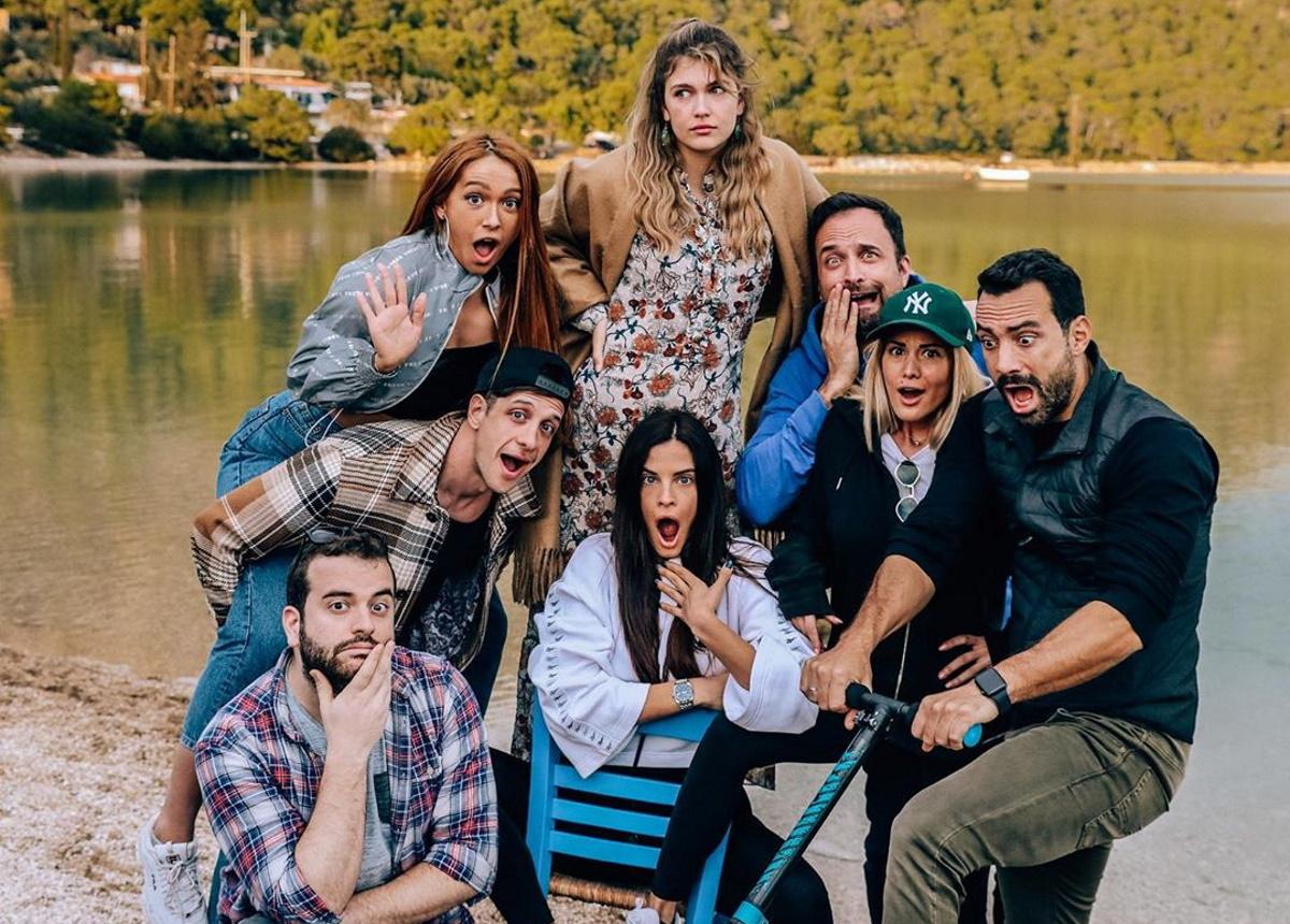 Χριστίνα Μπόμπα – Σάκης Τανιμανίδης: Road trip στο Λουτράκι με τους φίλους τους! [pics,vids]
