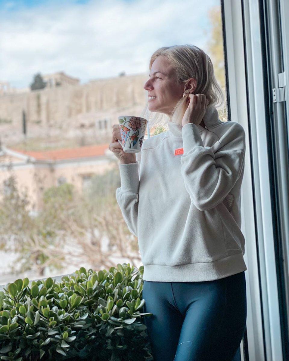 Χριστίνα Κοντοβά: Μας ενημερώνει για την υγεία της, μετά τον κορονοϊο, και μας δείχνει την εκπληκτική θέα της! [pics] | tlife.gr