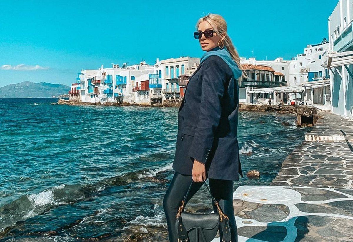 Κατερίνα Καινούργιου – Φίλιππος Τσαγκρίδης: Ξέγνοιαστες στιγμές στο Νησί των Ανέμων! [pics] | tlife.gr