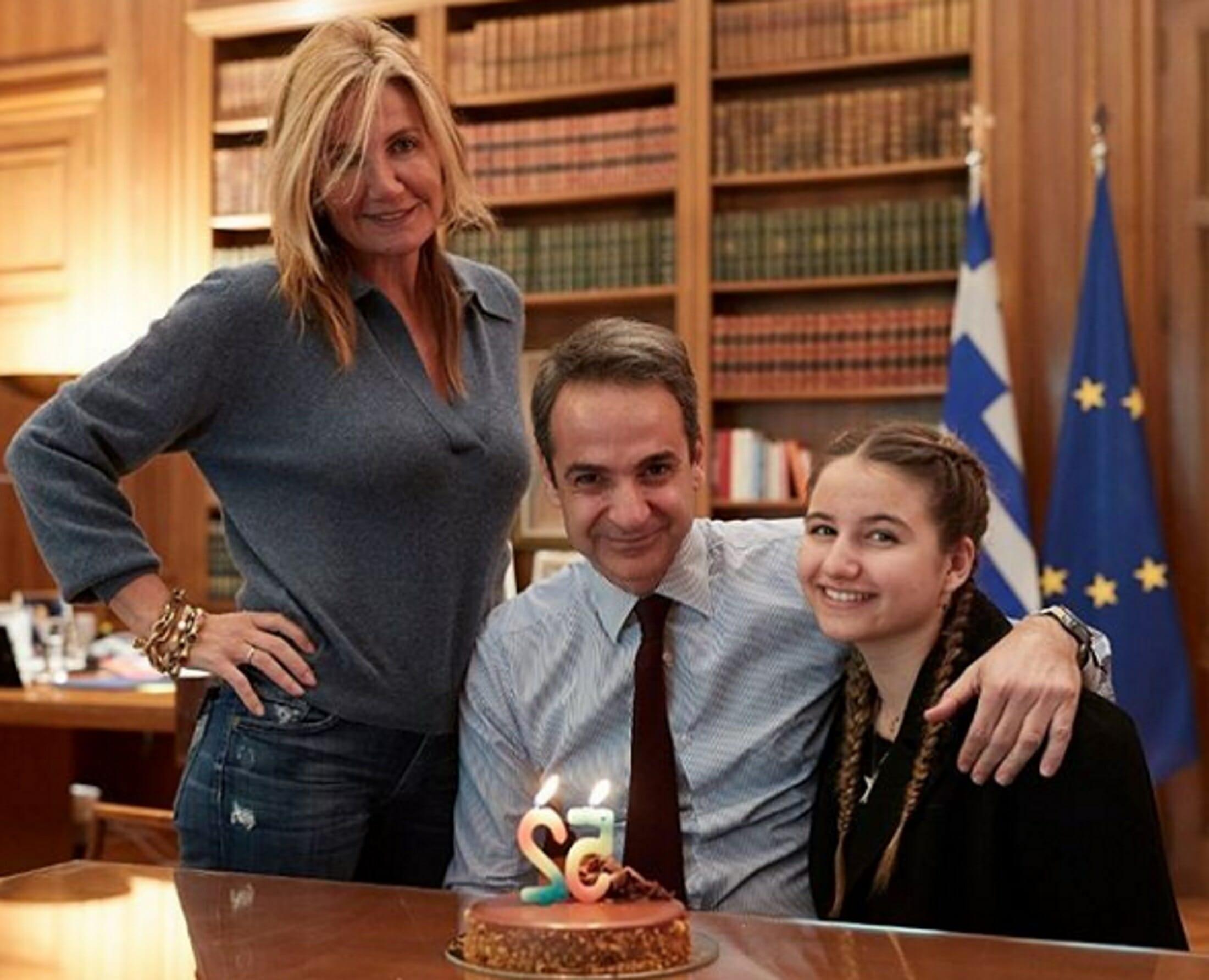 Κυριάκος Μητσοτάκης: Η έκπληξη της Μαρέβας για τα γενέθλιά του!
