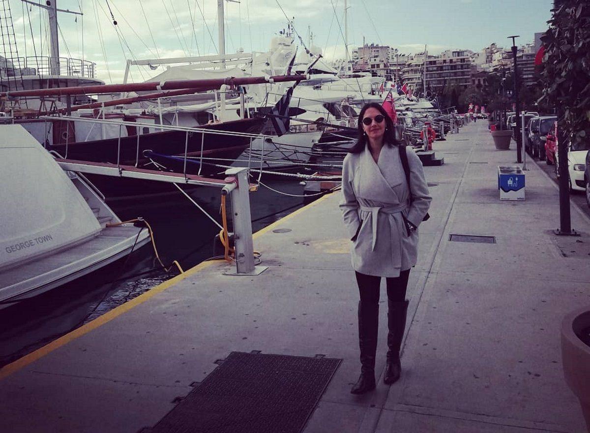 Νόνη Δούνια: Ανοιξιάτικη βόλτα στη θάλασσα! [pics] | tlife.gr