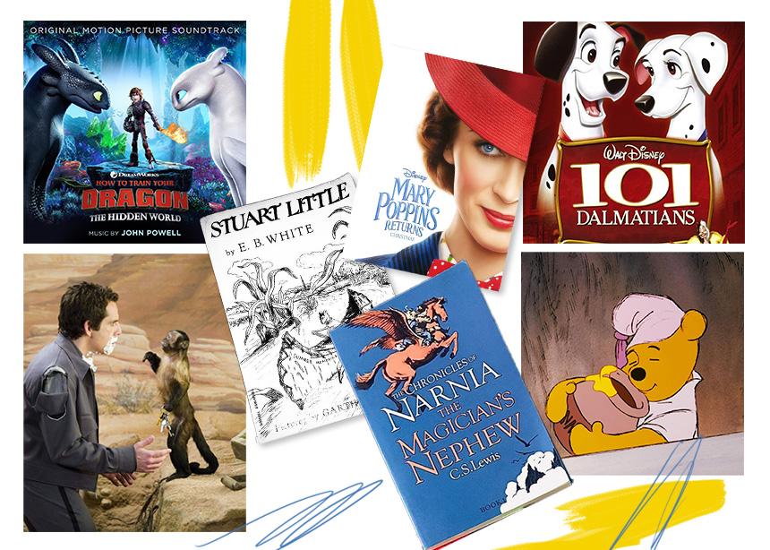 Εσύ ήξερες ότι αυτές οι κλασικές παιδικές ταινίες κυκλοφόρησαν πρώτα ως βιβλία;