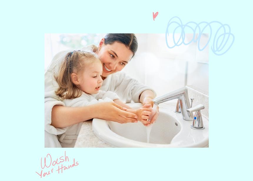 Μένουμε σπίτι και μαθαίνουμε στα παιδιά να πλένουν και μόνα τους τα χεράκια τους | tlife.gr