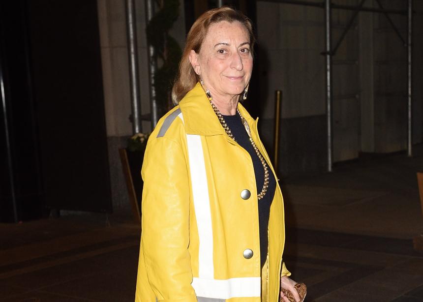 Η Miuccia Prada κατά του κορονοϊού!   tlife.gr