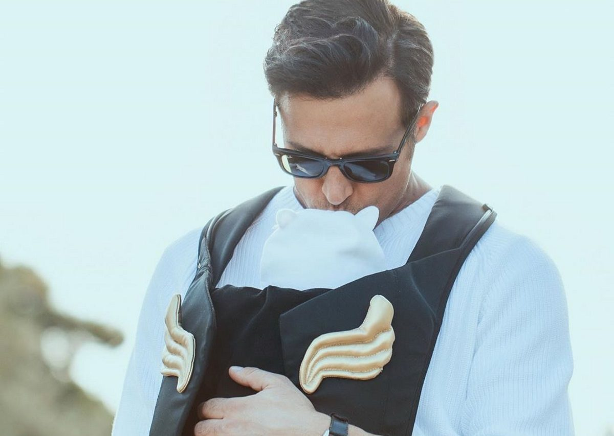 Σάββας Πούμπουρας: Περνά την καραντίνα… αγκαλιά με την κόρη του! [pic] | tlife.gr