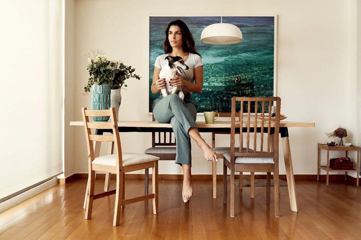 Τόνια Σωτηροπούλου: Μένει σπίτι και το ρίχνει στη μαγειρική και τον διαλογισμό [pics]   tlife.gr
