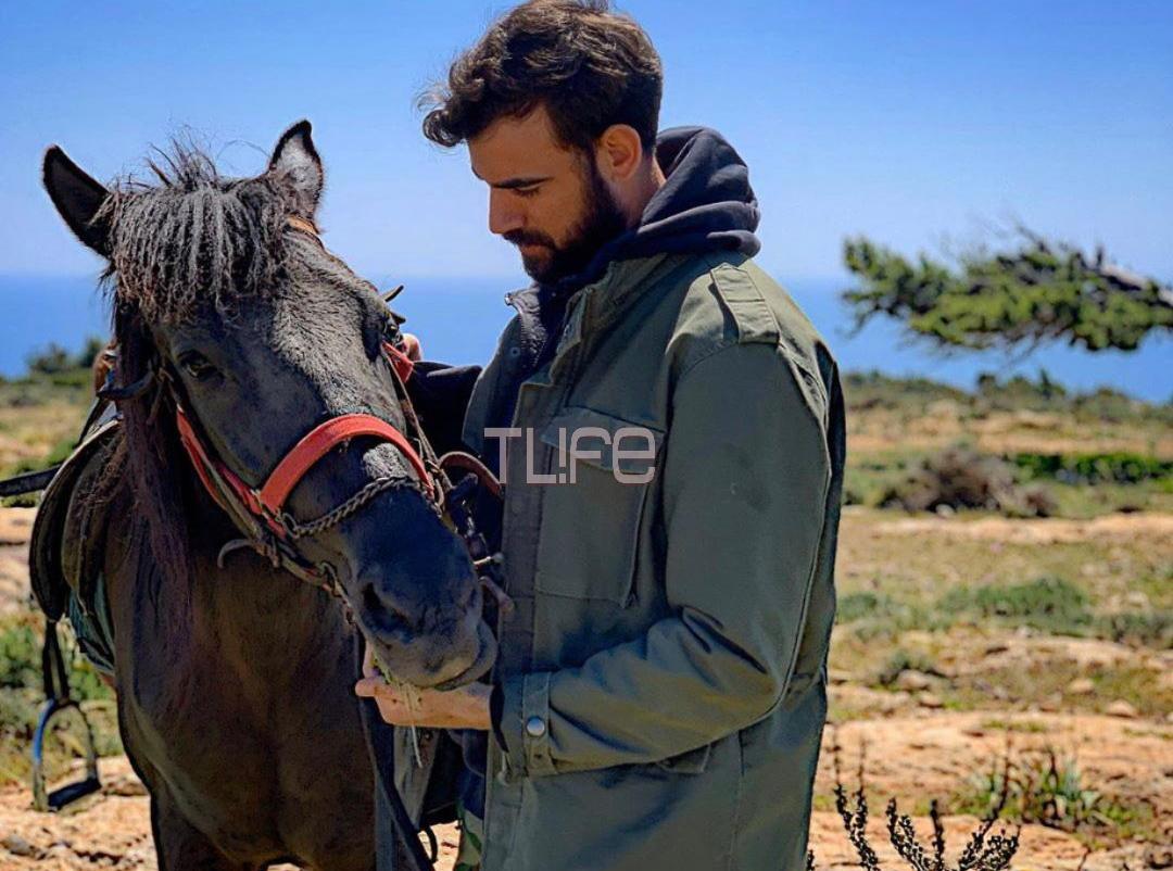 Νίκος Πολυδερόπουλος: Ζει ένα μήνα σαν ερημίτης στη Γαύδο! Βίντεο από την απίστευτη καραντίνα του!