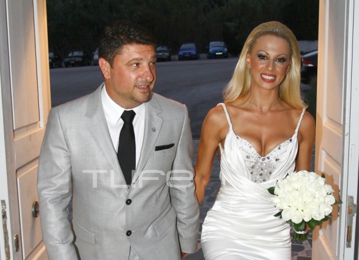 Νίκος Χαρδαλιάς: Οι φωτογραφίες του γάμου του με την όμορφη γυμνάστρια το 2011!