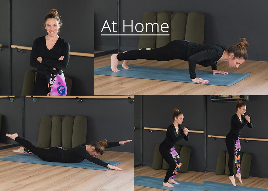 Γυμναστική στο σπίτι: Οι ασκήσεις που θα σε βοηθήσουν να απαλλαγείς από τα περιττά κιλά (Μέρος 2ο)! | tlife.gr