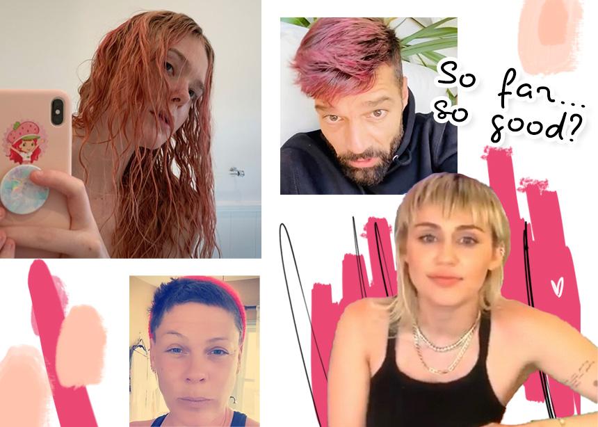 Όλοι οι celebrities που πείραξαν τα μαλλιά τους στην καραντίνα! | tlife.gr