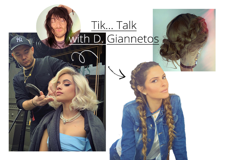 Tik… talk με τον Δημήτρη Γιαννέτο κατευθείαν από την Καλιφόρνια! Μιλήσαμε μαζί του και μας έδωσε tips για μαλλιά και όχι μόνο!