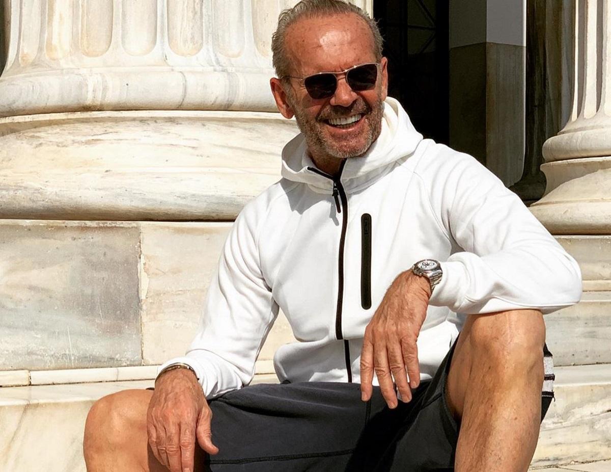 Πέτρος Κωστόπουλος: Ο γιος του, Μάξιμος, τον φωτογραφίζει στις καλοκαιρινές διακοπές τους!