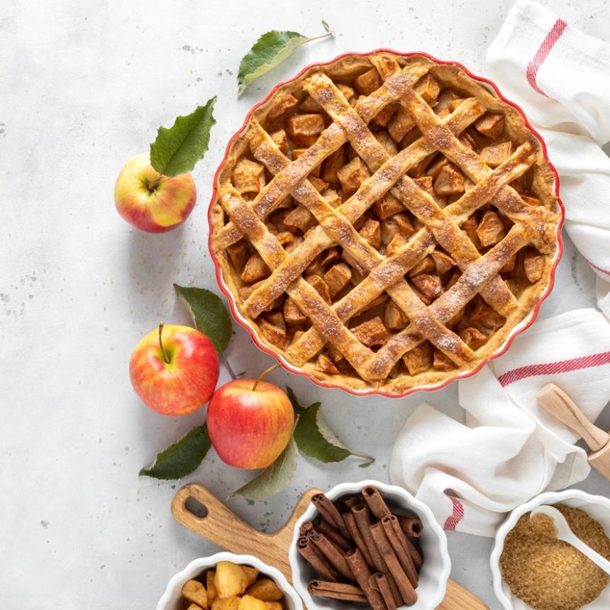 Συνταγή για αρωματική μηλόπιτα