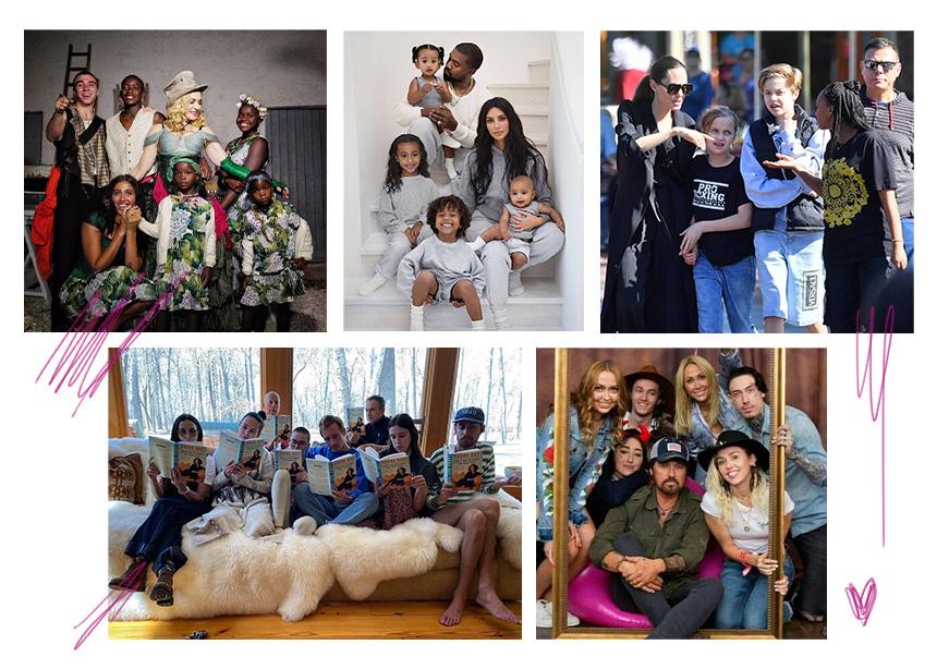 Αλήθεια, πόσα (πολλά) παιδιά έχουν 8 διάσημοι και πολύτεκνοι γονείς;